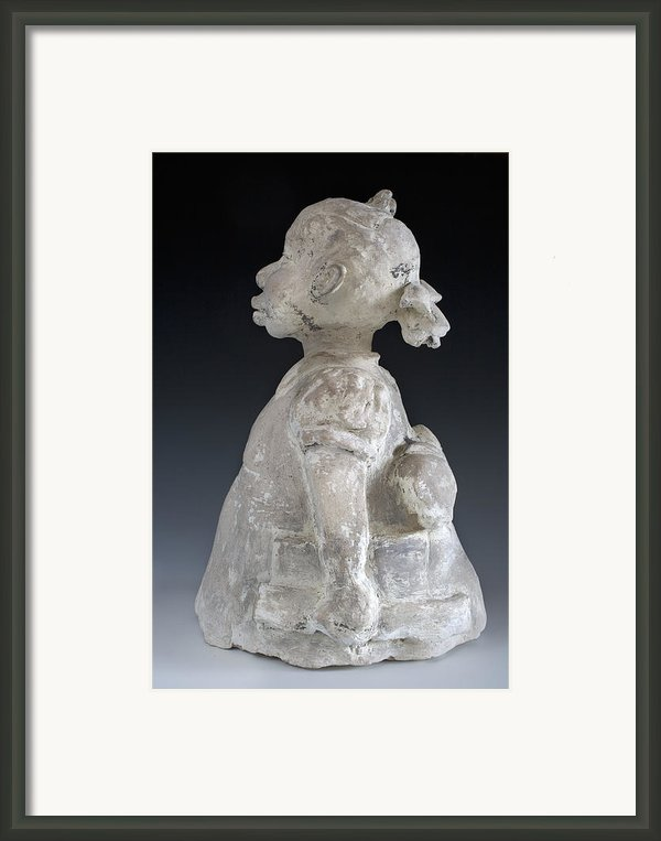 The Problem She Lives With Framed Print By Sharon Norwood