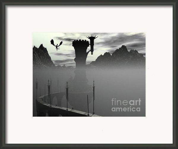 The Way In Framed Print By Roseann Caputo