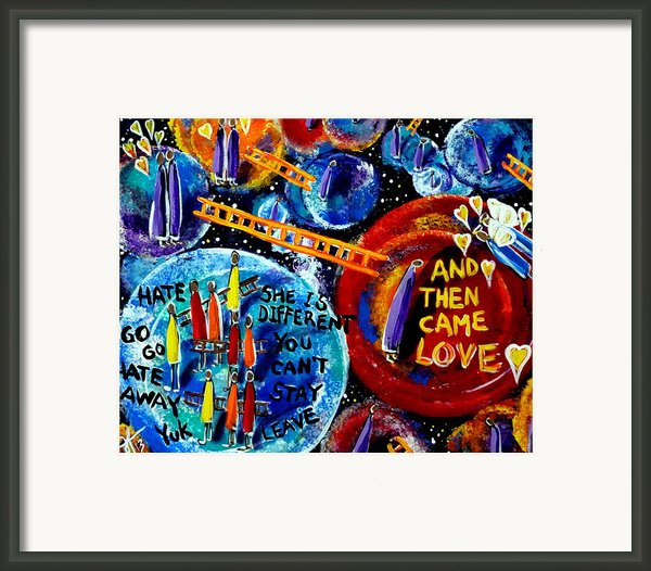 Then Came Love Framed Print By Jackie Carpenter