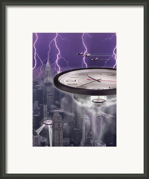 Time Travelers 2 Framed Print By Mike Mcglothlen