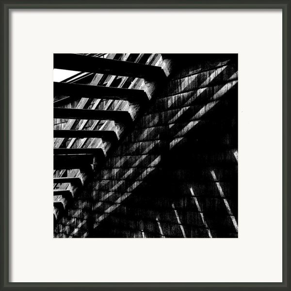 Under The Stairs Framed Print By David Patterson