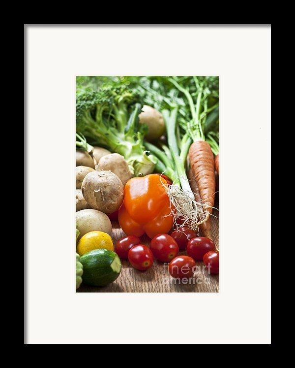 Vegetables Framed Print By Elena Elisseeva