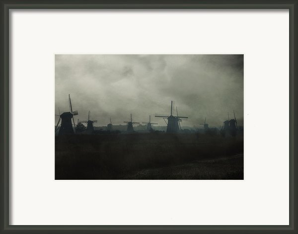 Windmills Framed Print By Joana Kruse