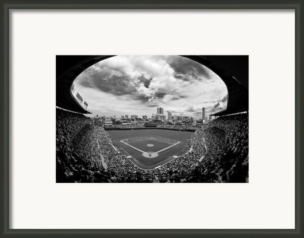Wrigley Field  Framed Print By Greg Wyatt