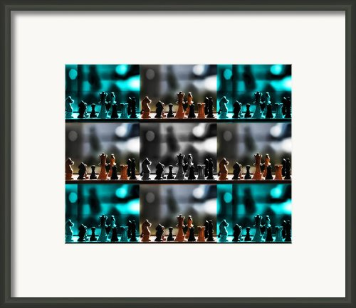 Your Move Framed Print By Camille Lopez