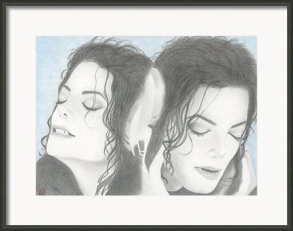 Michael Jackson Framed Print By Eliza Lo