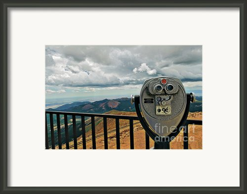 25 Cent Views Framed Print By Charles Dobbs