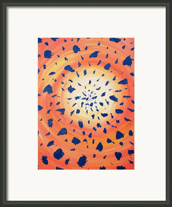 26-06-2012 Framed Print By Annette Egan