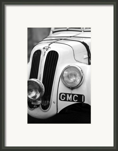 1937 Frazer Nash Bmw 328 Framed Print By Jill Reger