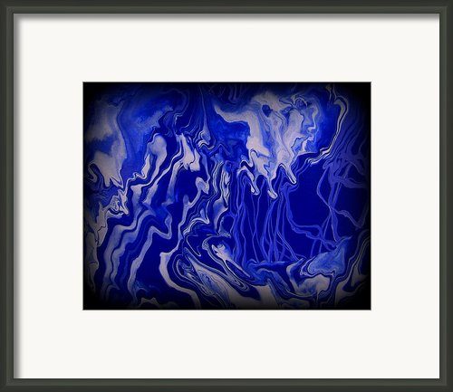 Abstract 87 Framed Print By J D Owen