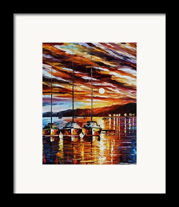 3 Borthers Framed Print By Leonid Afremov
