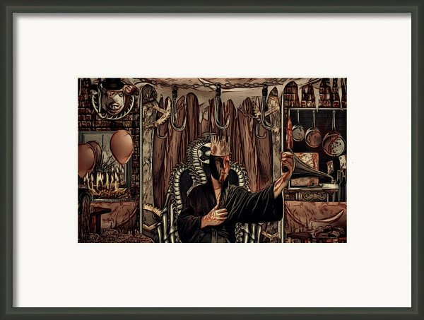 Celebration By Means Of Meat Framed Print By Jacob King