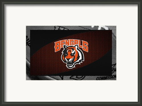Cincinnati Bengals Framed Print By Joe Hamilton