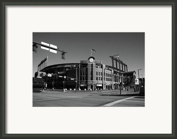 Coors Field - Colorado Rockies Framed Print By Frank Romeo