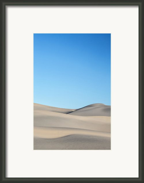Desert Calm Framed Print By Jon Glaser