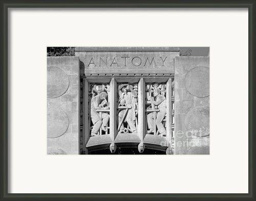 Indiana University Myers Hall Framed Print By University Icons