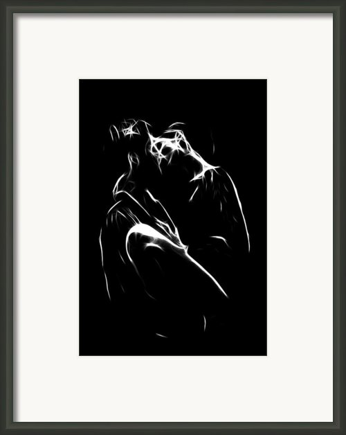 Kiss Me Framed Print By Stefan Kuhn