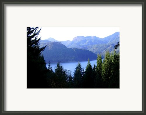 Lakes 8 Framed Print By J D Owen