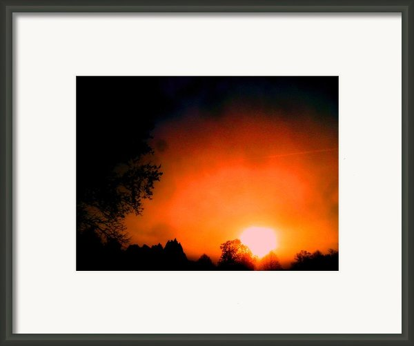 Looking Forward Framed Print By Allen N Lehman