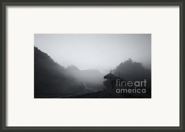 Mist In The Valley Framed Print By Setsiri Silapasuwanchai