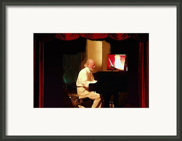 Mose Allison Framed Print By Ellen Henneke