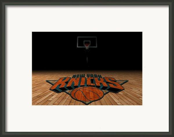New York Knicks Framed Print By Joe Hamilton
