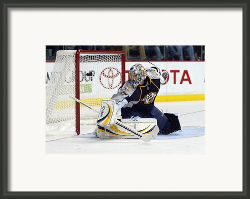 Pekka Rinne Framed Print By Don Olea