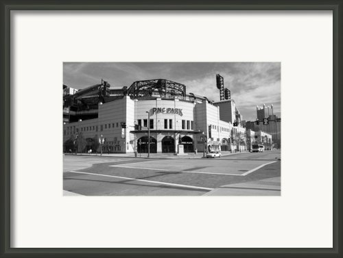 Pnc Park - Pittsburgh Pirates Framed Print By Frank Romeo