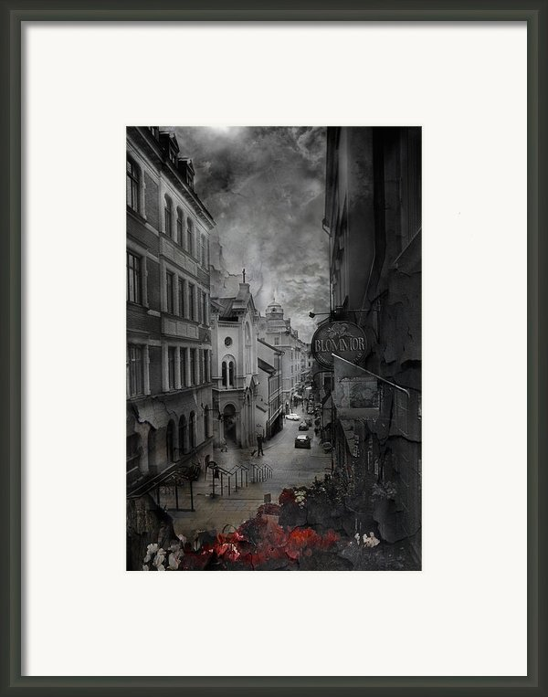 Riddim Framed Print By David Fox