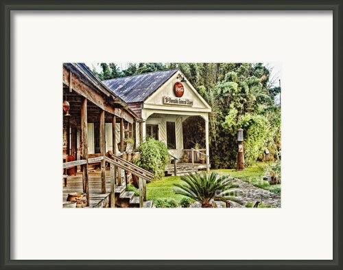 The Burnside General Store Framed Print By Scott Pellegrin