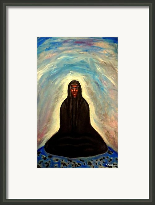 Waiting... Framed Print By Carmen Cordova