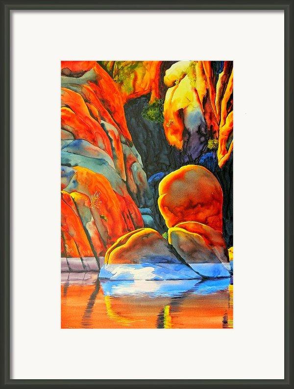 Watson Lake Framed Print By Robert Hooper