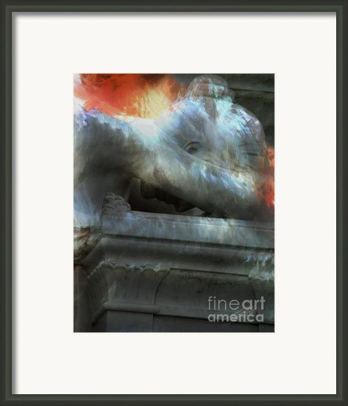 Weeping Angel Framed Print By Peter Piatt