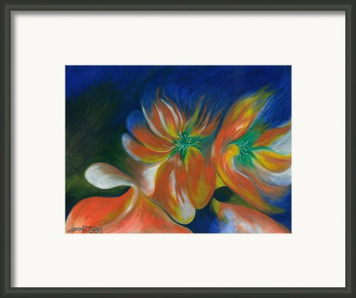 Wild Flower Framed Print By Fanny Diaz