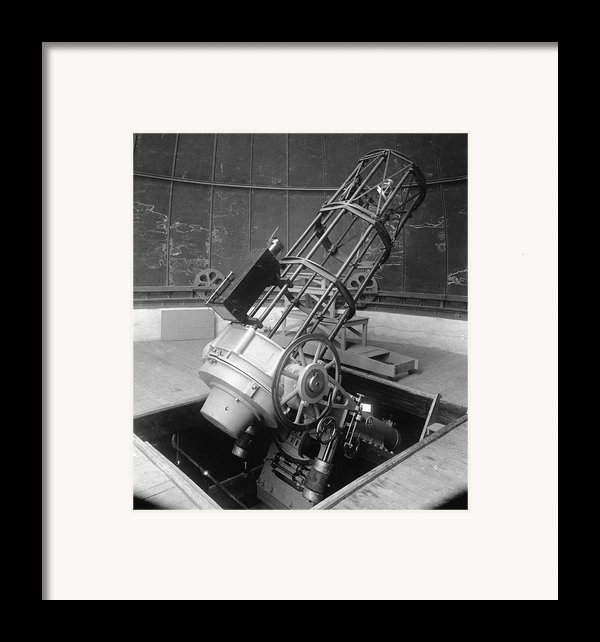 30-inch Telescope, Helwan, Egypt Framed Print By Science Photo Library