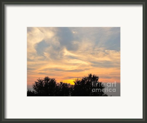 Sunset Framed Print By Frank Conrad
