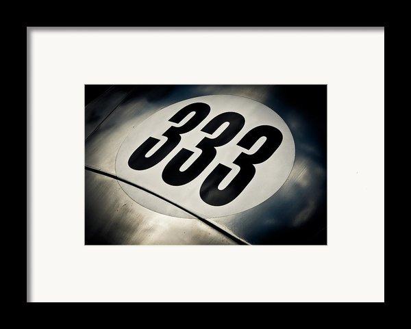 333 Framed Print By Phil