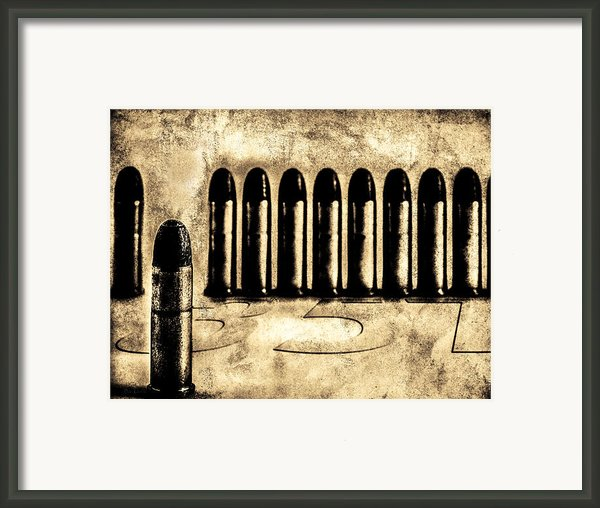 357 Framed Print By Bob Orsillo