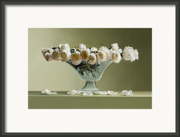 39 Roses Framed Print By Mark Van Crombrugge