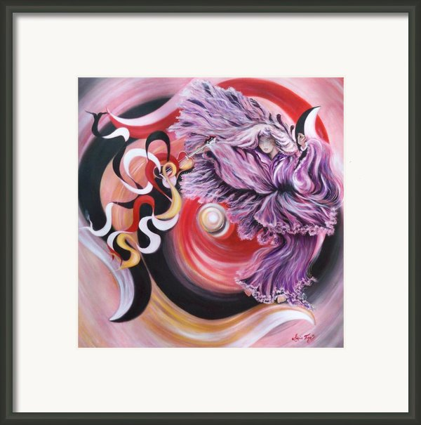 39ac Integrated Force Framed Print By Sigrid Tune