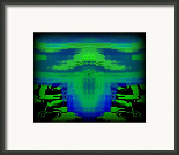Abstract 101 Framed Print By J D Owen