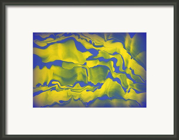 Abstract 106 Framed Print By J D Owen