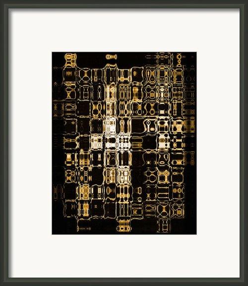 Abstract 96 Framed Print By J D Owen