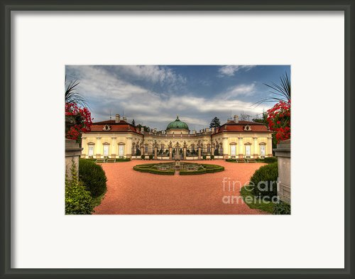 Buchlovice Castle Framed Print By Michal Boubin