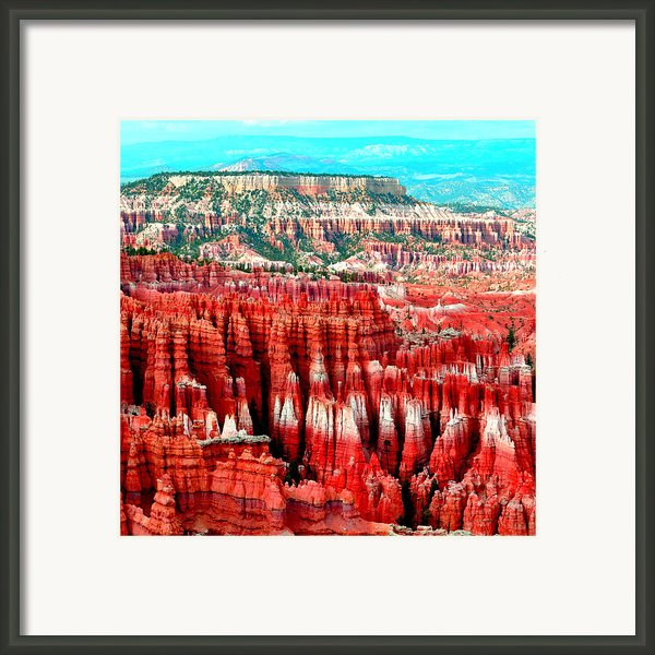 Canyon Framed Print By Ernesto Cinquepalmi