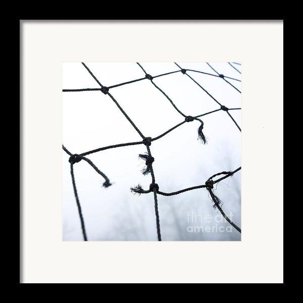Goal Framed Print By Bernard Jaubert