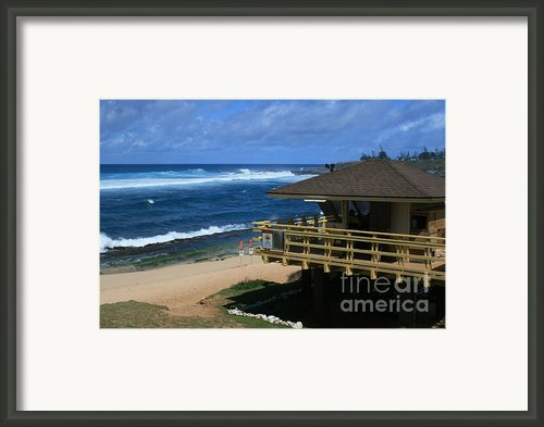 Hookipa Beach Maui North Shore Hawaii Framed Print By Sharon Mau