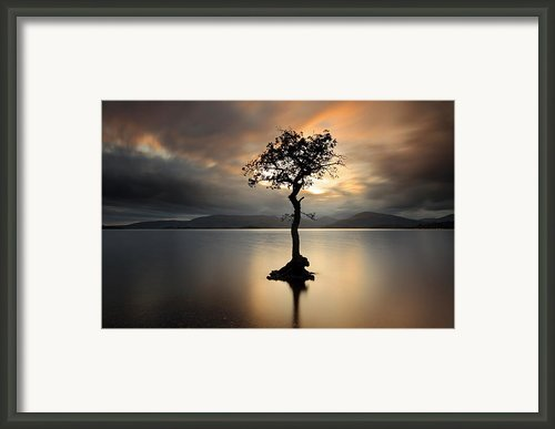 Loch Lomond Sunset Framed Print By Grant Glendinning