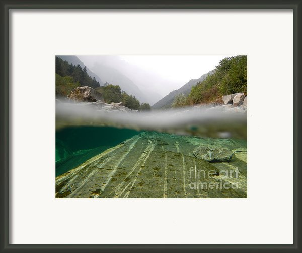 River Framed Print By Mats Silvan