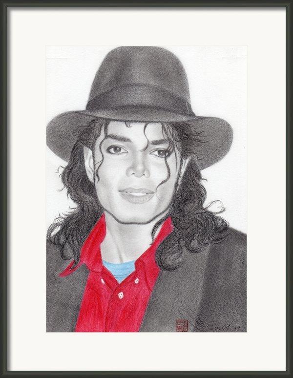 Michael Jackson Framed Print By Eliza Lo